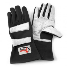 black racing gloves